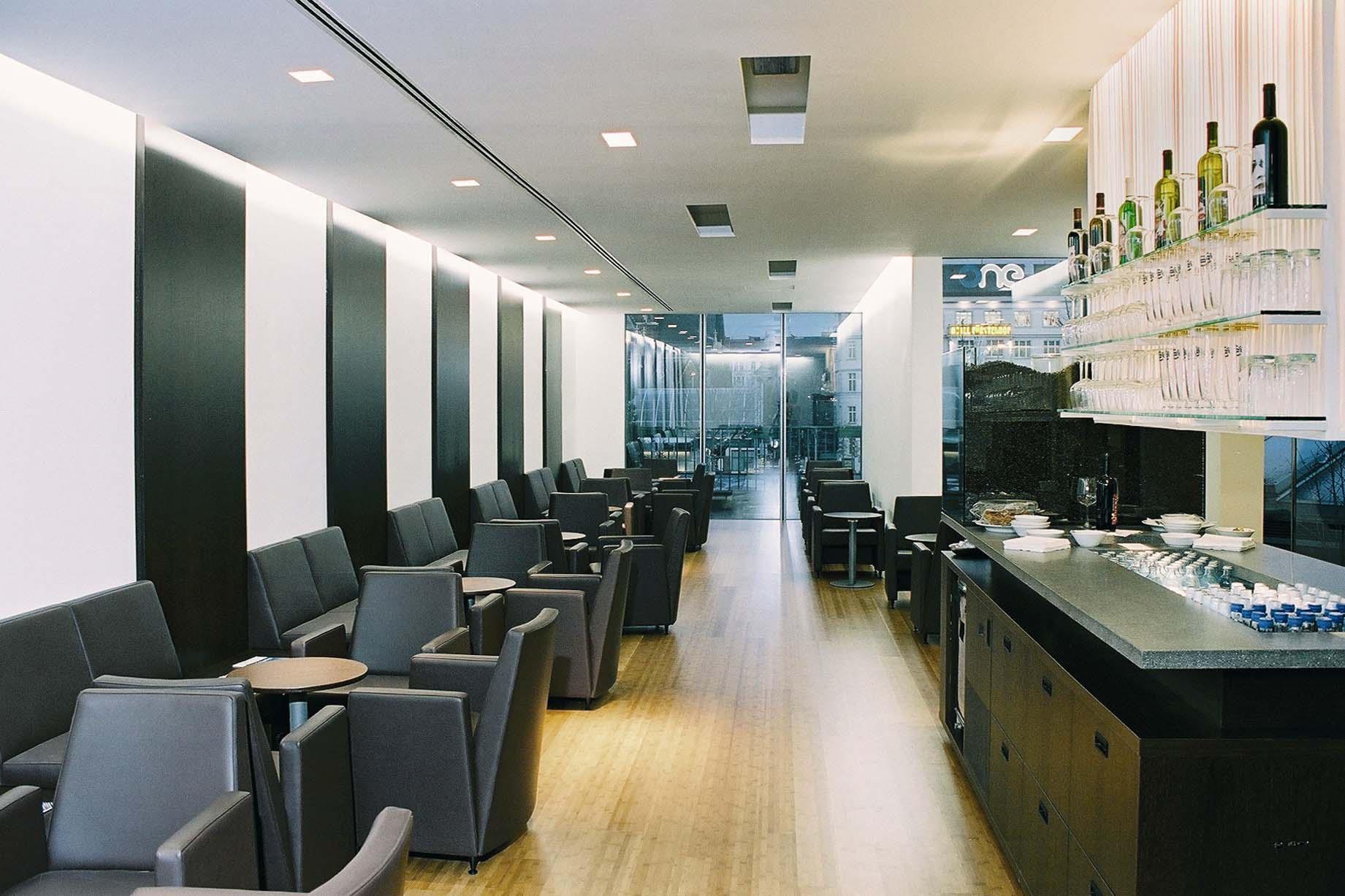 bar wohnzimmer wien:ÖBB eröffnen die ersten Club Lounges in Wien