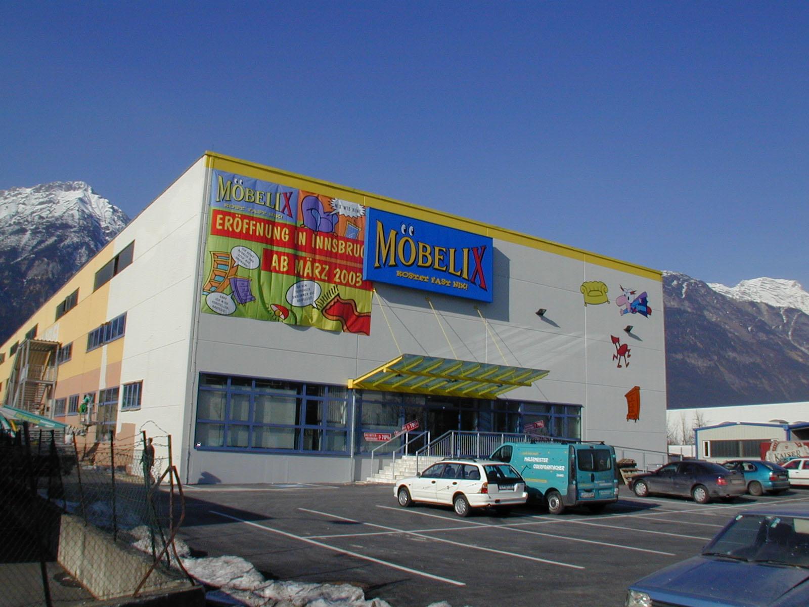 Bild Möbelix Eröffnet Neu In Innsbruck 30 Standort Entsteht