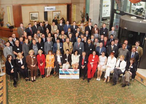 Die Teilnehmer des 24. Fertighaussymposiums im Renaissance Salzburg Hotel