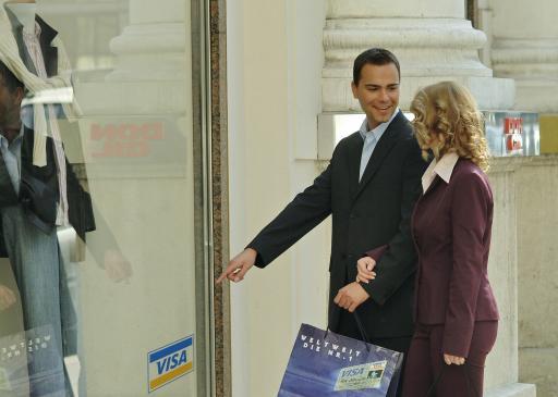 Marke VISA VISA ist die Kreditkarte der man am meisten vertraut