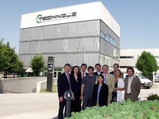 Geschäftsführung, Gesellschafter und strategische Partner freuen sich über das erste erfolgreiche Jahr des akademischen Gründerzentrums BCCS.