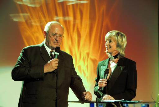 GDI KR Dkfm. Nehammer mit Moderatorin Andrea Honer