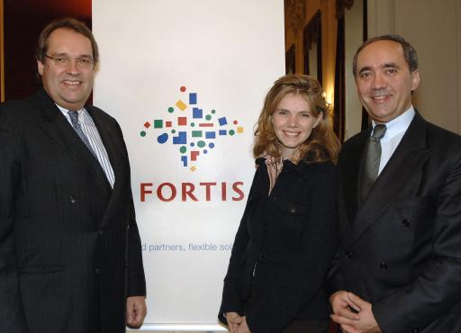 v.l.n.r.: Camille Fohl (Chief Executive Officer Commercial Banking FORTIS), Andrea Vaz-König (General Manager Business Center Vienna FORTIS), Wolfgang Helpa (Area Manager Central Europe FORTIS). Weitere abdruckfähige, honorarfreie Bilder finden sie unter http://www.pressefotos.at/album/1/1/200611/20061128_f/