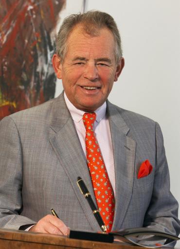 Kommerzialrat Dr. Heinrich SCHUSTER, Präsident des Österreichischen Werberates