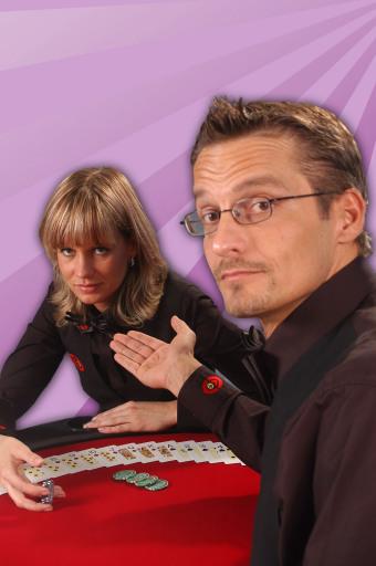 Kartengeber-Stars Gabriela Sanejstra und Andreas Daniel