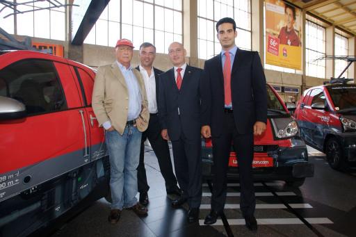 Bild: ÖBB präsentieren Kooperation mit LaudaMotion | ÖBB ...