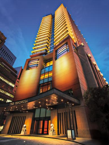 Das am 1. September 2007 eröffnete Peninsula Tokyo ist das erste freistehende Hotel, das seit einem Jahrzehnt in Japans Hauptstadt erbaut wurde.