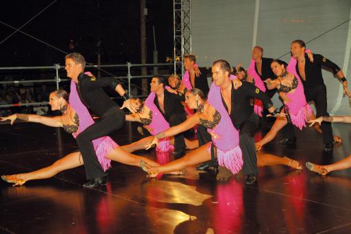 Tanzschule Schmid - Formation Heat - Staatsmeister 2005, 2006 und 2007 in Latein