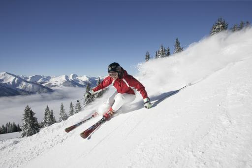 90% der Pisten können im Skicircus Saalbach Hinterglemm Leogang beschneit werden - auch wenn Frau Holle mal keine Lust auf natürlichen Schneefall hat.