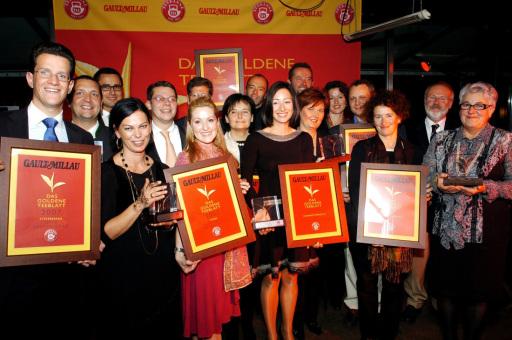 Die Gewinner des Goldenen Teeblatts 2007