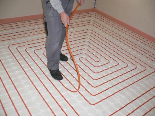 Variokomp der Renner für neue Fußbodenheizungen.