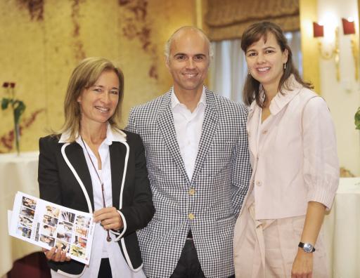 Tomorrow's Clients: Ihr Leben. Ihre Medien. Ihre Marken., v.l.n.r.: Mag. Alice Nilsson (Mitglied der Geschäftsführung DRAFTFCB KOBZA), Rudi Kobza (Geschäftsführer DRAFTFCB KOBZA), Dr. Sophie Karmasin (Geschäftsführung Karmasin Motivforschung ) http://pressefotos.at/m.php?g=1&u=1&dir=200805&e=20080506_k&a=event