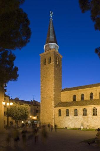 Die Basilika St. Eufemia