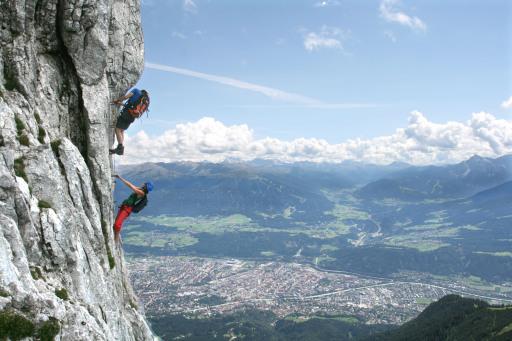 Klettersteig Innsbruck Umgebung : Klassiker für kletterer innsbruck tourismus