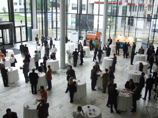 """Der diesjährige 4. mobile working day steht unter dem Motto """"Beflügeln Sie Ihre Prozesse"""". Veranstaltungsort ist das EURO PLAZA Conference Center am Wienerberg (Am Euro Platz 2, Gebäude G, 1120 Wien)."""