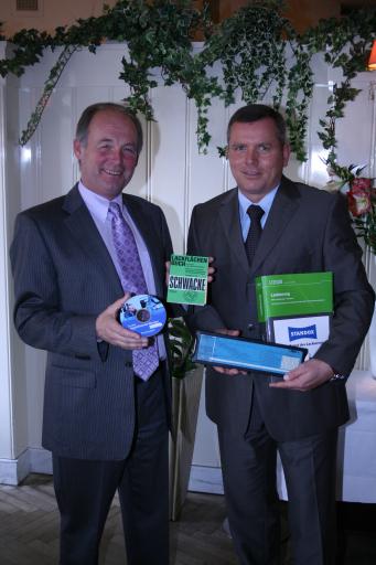 Arthur Clark, Bundesinnungsmeister und Mag. Henrik Kinder, EurotaxGlass's Österreich-Geschäftsführer