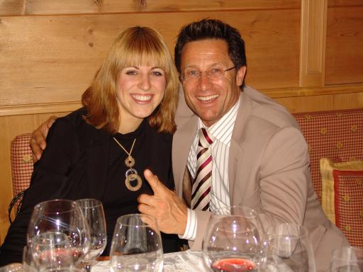 Julia Stock und Hans Enn