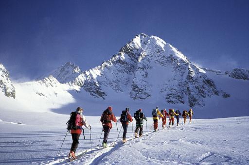 Skitour zum König der Hohen Tauern, Großglockner, 3.798 m.