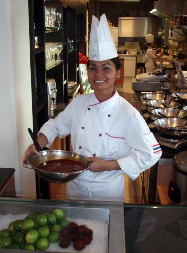 Restaurantchefin Yu Bauer
