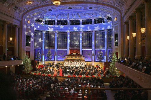Die große Weihnachtsgala im Wiener Konzerthaus