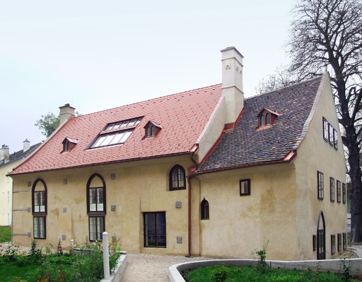 """Alte Heumühle"" im Innenhof"