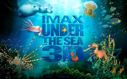 "Plakat zur IMAX(R)-Naturdokumentation ""Under the Sea 3D - Paradies im Meer"""