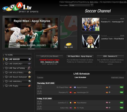 Laola1 Tv Kostenlos