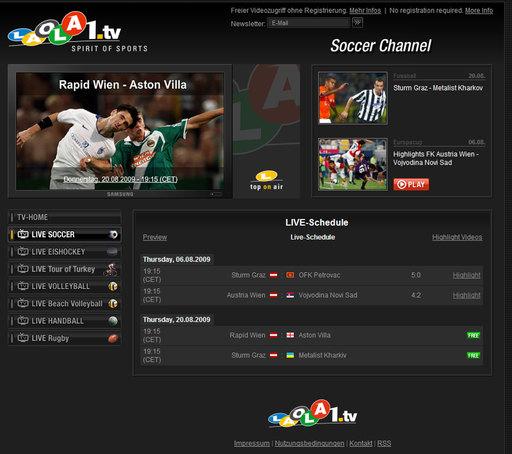 Laola1 Tv Live Stream
