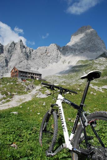 Mountainbike-Tour zur Lamsenjochhütte