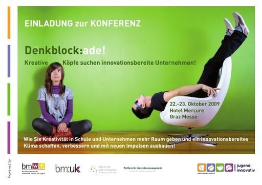 Denkblock:ade! Mehr Kreativität und Innovation in Schule und Wirtschaft