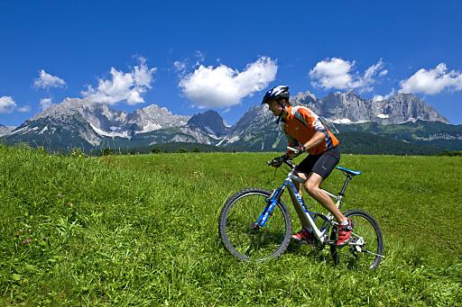 Von Mountainbikerouten bis hin zu gemütlichen Radtouren am Talboden findet sich für jeden Biker die geeignete Tour in der Region Wilder Kaiser