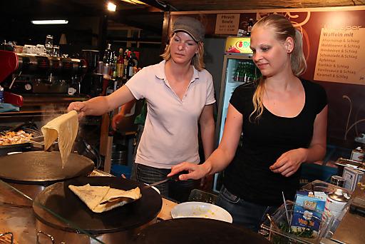 Kulinarik bei SandintheCity 2010