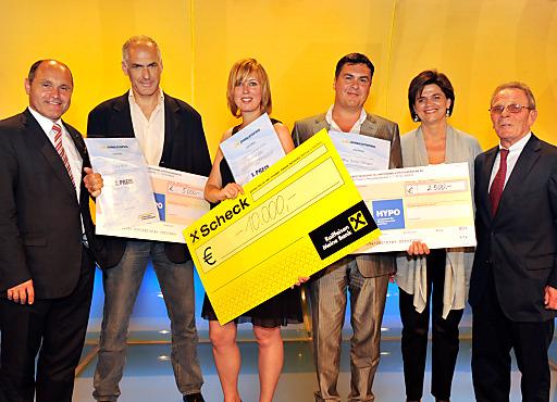 Zweiter NÖ Journalistenpreis vergeben: 1. Platz geht an Simone Göls, sie gewinnt vor Clara Maier und Robert Berger.