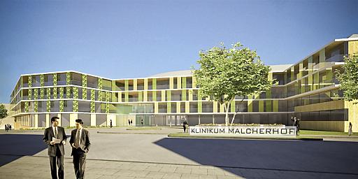 2012 wird das Klinikum Malcherhof in neuem Glanz erstrahlen