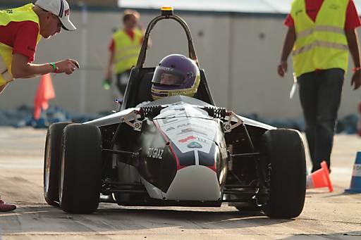 Elektroauto MaxWheel des E-Power Racing Teams der TU Graz
