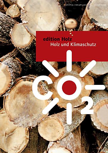 """Neue kostenfreie proHolz Broschüre zum Thema """"Holz und Klimaschutz"""""""