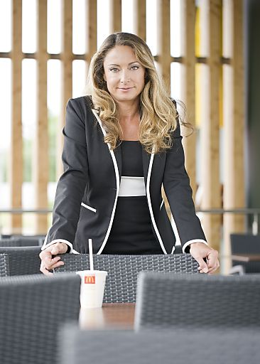 Mag. Marion Maurer, Director of Human Resources McDonald's Österreich