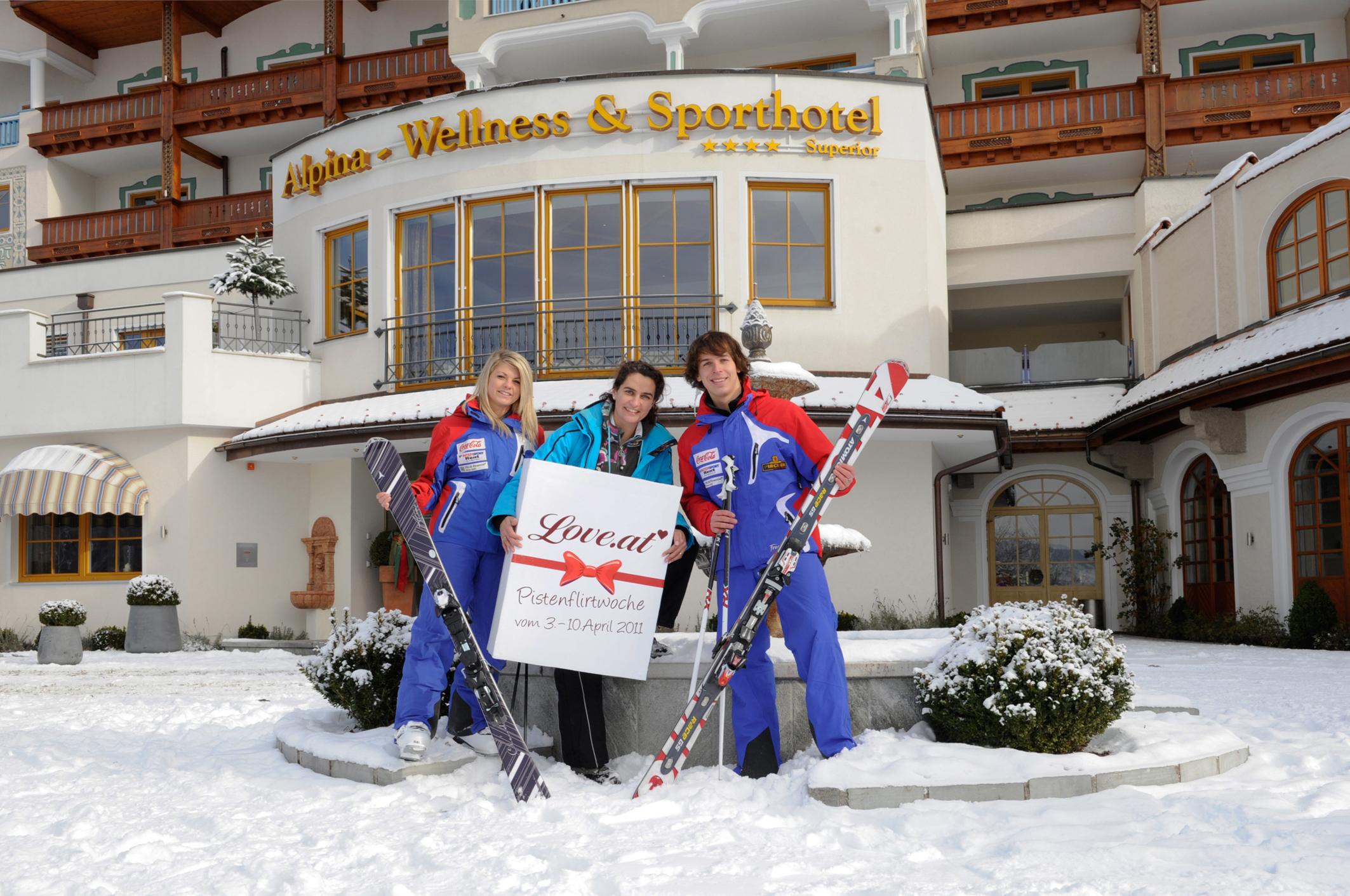 4 Stern Superior Hotel Alpina In St Johann Alpendorf Veranstaltet