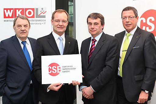 http://pressefotos.at/m.php?g=1&u=66&dir=201103&e=20110303_q&a=event Im Bild vlnr.: Dr. Richard Schenz (Kapitalmarktbeauftragter des Bundesministers für Finanzen), Alfred Harl, CMC (Obmann des Fachverbandes UBIT der WKO), Dr. Heinrich Schaller (Mitglied des Vorstandes Wiener Börse AG und CEE Stock Exchange Group AG), Alfons H. Helmel, MBA, CMC (Geschäftsführer Qualitätsakademie incite)