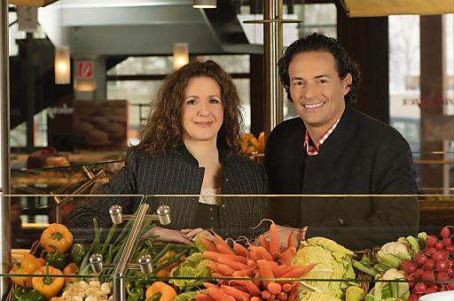 Melina und Kris Rosenberger.