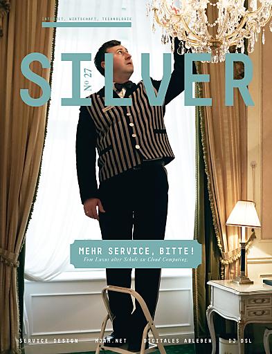SILVER Nr. 27 mit Schwerpunkt Service - Cover