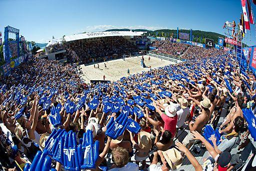 DER Sommerevent des Jahres - der A1 Beach Volleyball Grand Slam presented by VOLKSBANK