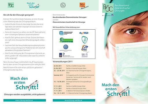 Uniinitiative des Berufsverbandes Österreichischer Chirurgen