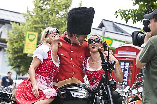 Triumph Tridays - Austria meets Britain in Neukirchen am Großvenediger im Salzburgerland