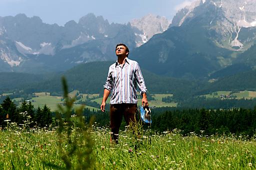 Der Fantag mit Hauptdarsteller Hans Sigl am 16. September ist das Highlight der Bergdoktorwoche.