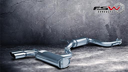 FSW bietet komplette Sportauspuffanlagen in höchster Premium-Qualität zum Sensations-Preis.