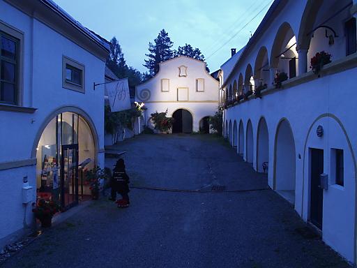 Brahms-Museum Innenhof