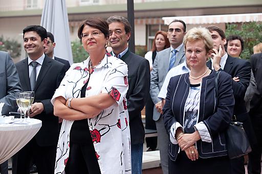 Im Bild v.l.n.r.: Vize-Bürgermeisterin Brauner, Botschafterin Meier-Kajbic