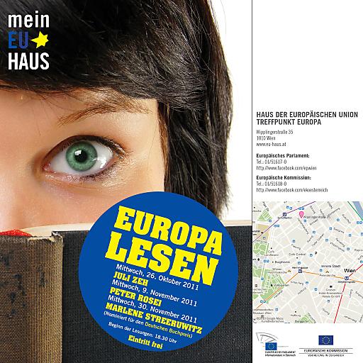 Einladung Europa Lesen