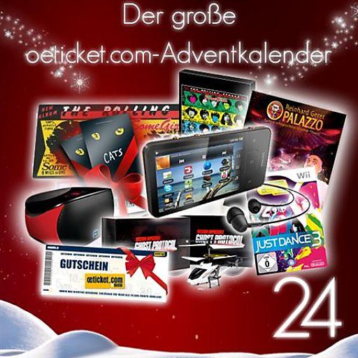 Das Weihnachtsfest naht mit großen Schritten, doch so manchem wird die Zeit trotzdem zu lang. oeticket.com versüßt seinen Kunden nun das Warten aufs Christkind mit dem oeticktet.com-Adventkalender.